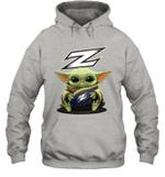 Baby Yoda Hug Akron Zips The Mandalorian Hoodie