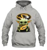 Baby Yoda Hug Missouri Tigers The Mandalorian Hoodie