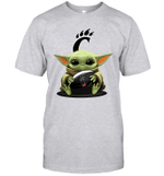 Baby Yoda Hug Cincinnati Bearcats The Mandalorian T-Shirt