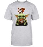 Baby Yoda Hug Bowling Green Falcons The Mandalorian T-Shirt