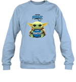 Baby Yoda Loves Orlando Magic The Mandalorian Fan Sweatshirt