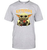 Baby Yoda Loves Kopparbergs Brewery Beer The Mandalorian Fan T-Shirt