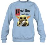 Baby Yoda Loves Ketel One Vodka The Mandalorian Fan Sweatshirt
