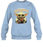 Baby Yoda Loves Kopparbergs Brewery Beer The Mandalorian Fan Sweatshirt