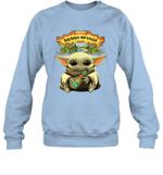 Baby Yoda Loves Sierra Nevada Beer The Mandalorian Fan Sweatshirt