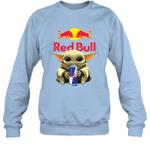 Baby Yoda Loves Red Bull Energy Drink The Mandalorian Fan Sweatshirt