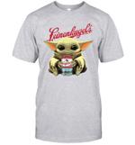 Baby Yoda Loves Leinenkugel The Mandalorian Fan T-Shirt