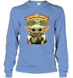 Baby Yoda Loves Sierra Nevada Beer The Mandalorian Fan Long Sleeve T-Shirt