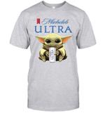 Baby Yoda Loves Michelob Ultra Beer The Mandalorian Fan T-Shirt