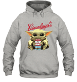 Baby Yoda Loves Leinenkugel The Mandalorian Fan Hoodie