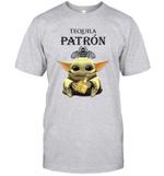 Baby Yoda Loves Patron The Mandalorian Fan T-Shirt