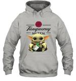 Baby Yoda Loves Tanqueray The Mandalorian Fan Hoodie