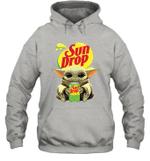 Baby Yoda Loves Sun Drop Soda The Mandalorian Fan Hoodie
