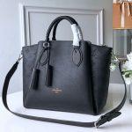 Haumea Mahina Perforated Leather Top Handle Bag M55029 Black 2019 Collection