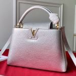 Capucines Pm Top Handle Bag M90473 Silver 2019 Collection