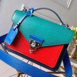 Soft Trunk Messenger Bag In Epi Leather M50377 Green 2019 Collection