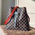 Néonoé Mm Damier Canvas Bucket Bag N40229 Black/white 2019 Collection