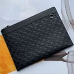Discovery Pochette Damier Infini Leather Pouch N60112 Black 2019 Collection