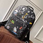 Men's Osh Backpack Map Print Damier Graphite Canvas N40199 2019 Collection