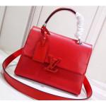 Epi Leather Grenelle Pm Bag Red 2019