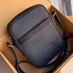 Men's Danube Slim Pm Shoulder Bag M55168 Navy Blue 2019 Collection