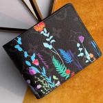 Men's Flora Print Monogram Canvas Multiple Wallet M60895 2019 Collection