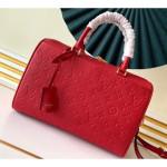 Monogram Empreinte Leather Speedy Bandouliere 30 Bag Red