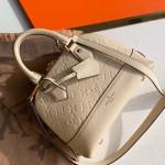 Sac Neo Alma Bb Monogram Empreinte Leather Bag M44858 White 2019 Collection