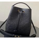 Monogram Empreinte Néonoé Mm Bucket Bag M45256 Black 2020