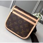 Monogram Canvas Flap Belt Bag M40108 2018