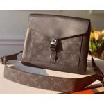 Outdoor Flap Messenger Bag M30413 Black 2020