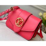 Lv Pont 9 Bag M55949 Dahlia Pink 2020