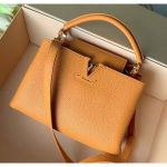 Taurillon Leather Capucines Bb Top Handle Bag M94586 Orange 2020 Collection