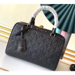 Monogram Empreinte Leather Speedy Bandouliere 25 Bag M42401 Black