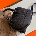 Sac Neo Alma Bb Monogram Empreinte Leather Bag M44829 Black 2019 Collection