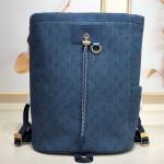 Men's Monogram Denim Chalk Backpack M44617 Blue 2019 Collection
