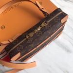 Monogram Canvas Trunks Shoulder Bag M44357 2019