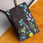 Men's Flora Print Monogram Canvas Pocket Organizer Wallet M61696 2019 Collection