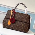 Monogram Canvas Cluny Mm Braided Top Handle Bag M44669 2019 Collection