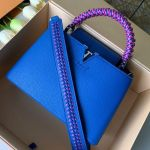 Capucines Pm With Braided Handle M55083 Royal Blue 2019 Collection