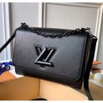 Epi Leather Twist Mm Bag With Short Chain Handle M51884 Black/black 2020 Collection