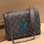 Monogram Pop Twist Mm Shoulder Bag M55480 Blue 2019 Collection