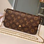 Pochette Félicie Chain Wallet Woc M61276 Monogram Canvas  Collection