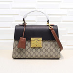 Padlock small GG shoulder bag Medium Size 28cm