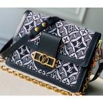 Dauphine Mm Bag 1854 Canvas Black Runway 2020