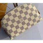 Cosmetic Pouch Pm Bag Damier Azur Canvas N60024