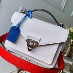 Soft Trunk Messenger Bag In Epi Leather M50377 White 2019 Collection