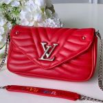 New Wave Chain Pochette Shoulder Bag M63956 Red 2019 Collection