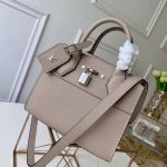 City Steamer Mini Bag In Grainy Calfskin M53804 Grey Collection