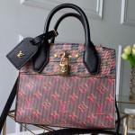 Monogram Pop City Steamer Mini Top Handle Bag M55469 Red 2019 Collection